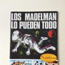 Madelman: CATÁLOGO LOS MADELMAN LO PUEDEN TODO _LEY353. Lote 198754075