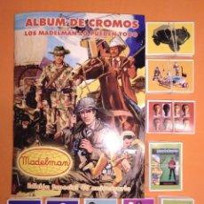 Madelman: MADELMAN ALBUM 430 CROMOS 40 ANIVERSARIO IMPECABLE SIN PEGAR TIRADA 100 UNIDADES. Lote 145400778