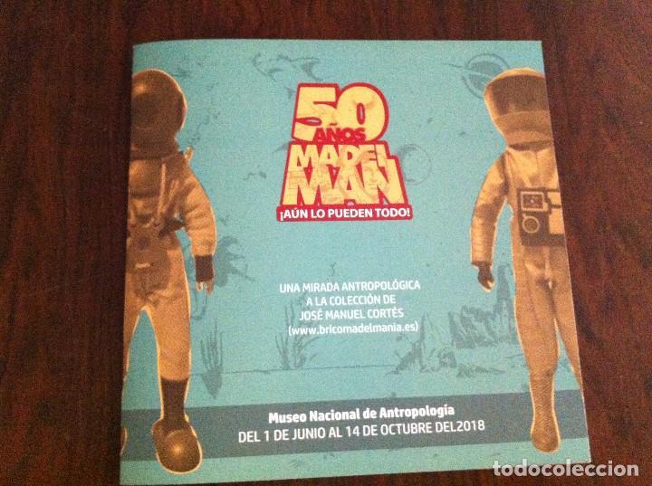 CATÁLOGO EXPOSICIÓN 50 AÑOS DE MADELMAN. MUSEO NACIONAL DE ANTROPOLOGÍA (MADRID). (Juguetes - Figuras de Acción - Madelman)