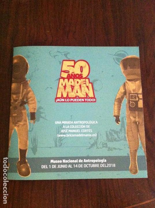 Madelman: Catálogo Exposición 50 Años de Madelman. Museo Nacional de Antropología (Madrid). - Foto 2 - 147765710
