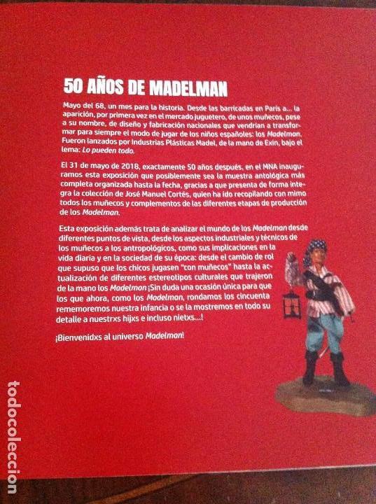 Madelman: Catálogo Exposición 50 Años de Madelman. Museo Nacional de Antropología (Madrid). - Foto 3 - 147765710