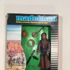 Madelman: MADELMAN EQUIPO INDIVIDUAL COWBOY. NUEVO A ESTRENAR. Lote 147888338