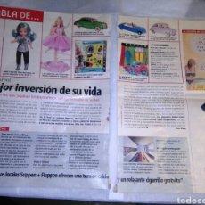 Madelman: ARTICULO DEL DOMINICAL AÑO 2002 SOBRE COLECCIONISMO DE MADELMAN,NANCY,ETC. Lote 149469592