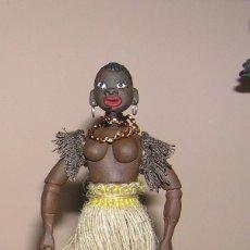 Madelman: MADELMAN MDE. MADELWOMAN NEGRA. MUJER AFRICANA. SAFARI. UNICO. Lote 150069226