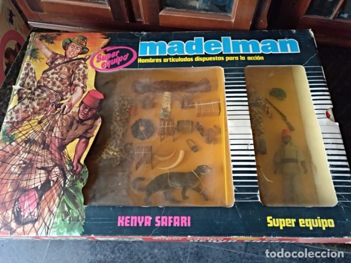 Madelman: super equipo madelman kenya safari en caja - Foto 5 - 154738266