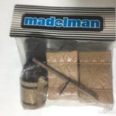 Madelman: ¡¡LOS ORIGINALES!! MADELMAN ORIGINAL MADEL S.A BOLSA SIN ABRIR CARAVANA OESTE. Lote 150976990