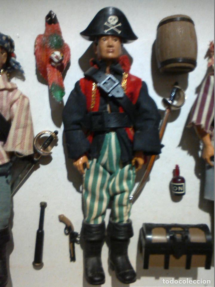 Madelman: MADELMAN Ref.154-118 (1975-1979) Madel 1º Generación Súper Equipos: Capitán Pirata - Foto 3 - 160372625