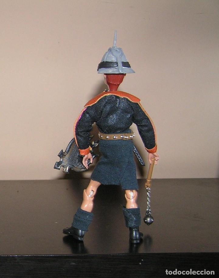 Madelman: Madelman historico. Serie Gladiadores 9. Hoplomaco con maza, espada y escudo.Coleccionalos. MISTERIO - Foto 3 - 154764958