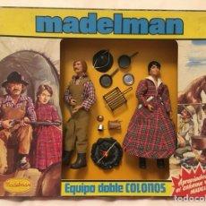 Madelman: MADELMAN CAJA COLONOS. REFERENCIA 2120. SIN ABRIR. OESTE.. Lote 155874669