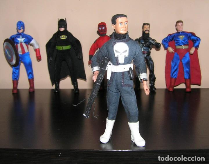 MADELMAN SERIE HEROES. THE PUNISHER EL VENGADOR. MARVEL (Juguetes - Figuras de Acción - Madelman)