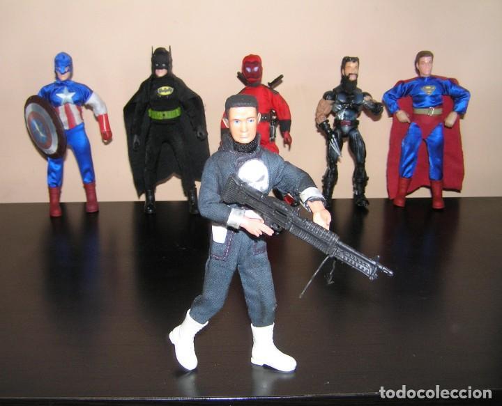 Madelman: Madelman serie heroes. The Punisher El Vengador. Marvel - Foto 2 - 179064017