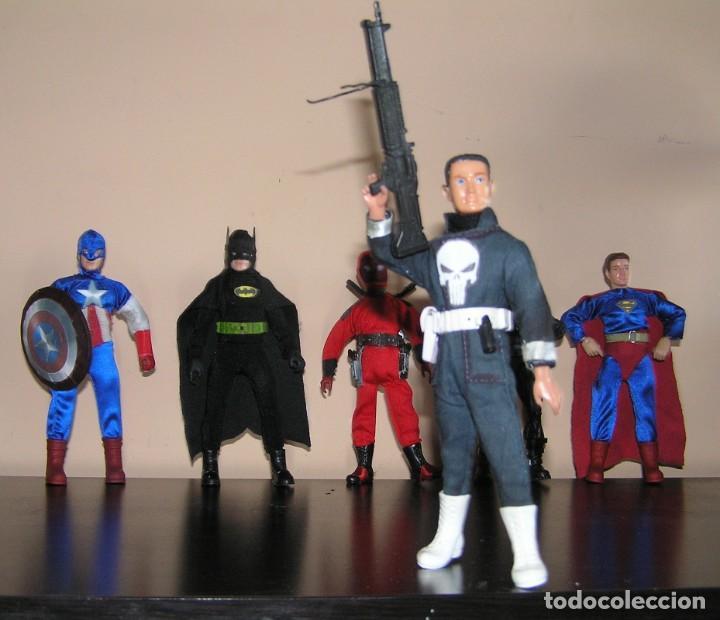 Madelman: Madelman serie heroes. The Punisher El Vengador. Marvel - Foto 3 - 179064017