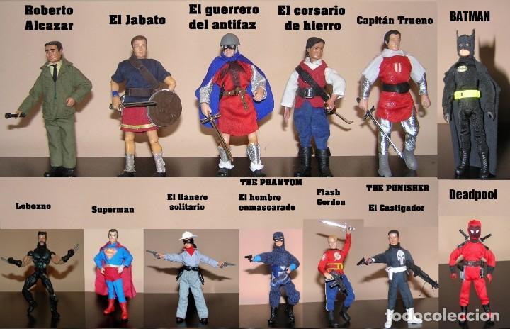 Madelman: Madelman serie heroes. The Punisher El Vengador. Marvel - Foto 4 - 179064017