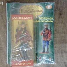 Madelman: MANIQUÍ MADELMAN ALTAYA POLICIA MONTADA FIGURA+ FASCÍCULO Nº 2. BLISTER DESCATALOGADO SIN ABRIR.PTOY. Lote 160637514