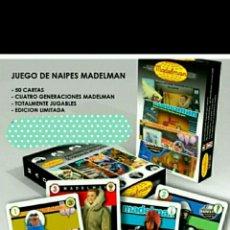Madelman: MADELMAN. BARAJA DE NAIPES. NUEVAS. SIN USO.. Lote 162518518