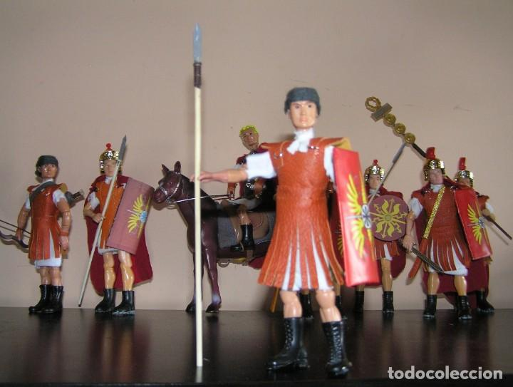 MADELMAN MDE HISTÓRICO MEDIEVAL. LEGIONARIO ROMANO. MISTERIO (Juguetes - Figuras de Acción - Madelman)