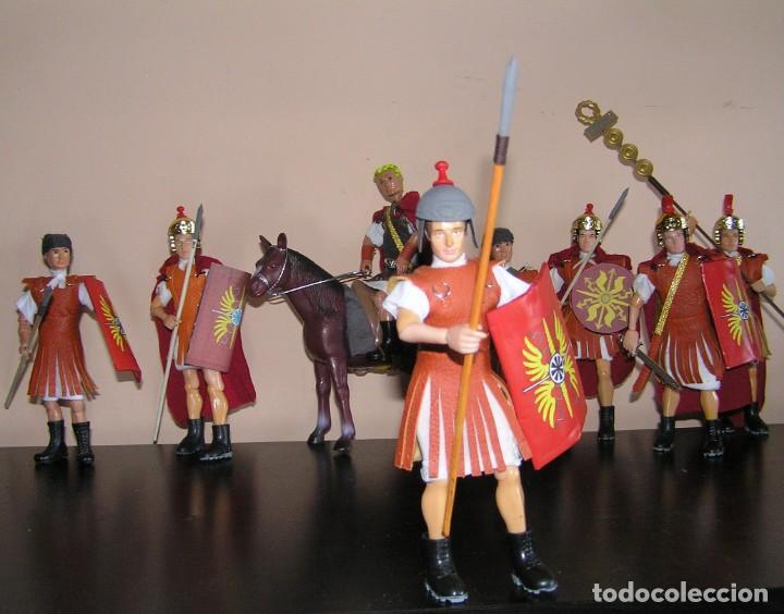 MADELMAN MDE HISTÓRICO MEDIEVAL. SOLDADO IMPERIO ROMANO (Juguetes - Figuras de Acción - Madelman)