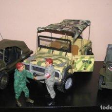 Madelman - Madelman MDE coche jeep aleman Africa Korps, segunda guerra mundial, con soldado aleman conductor - 163332142