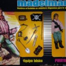 Madelman: ORIGINAL MADELMAN PIRATA SEGUNDA CON SU CAJA. Lote 164497814