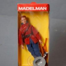Madelman: MADELMAN POLICÍA MONTADA DEL CANADÁ CON CAJA - ALTAYA -. Lote 165825590