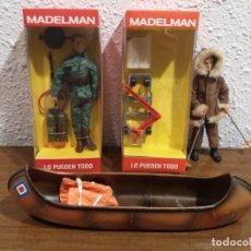 Madelman: LOTE MADELMAN ALTAYA Y CANOA MADELMAN ORIGINAL (VER DESCRIPCION). Lote 166216486