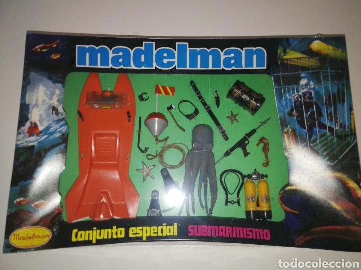CONJUNTO ESPECIAL SUBMARINISMO MADELMAN (Juguetes - Figuras de Acción - Madelman)