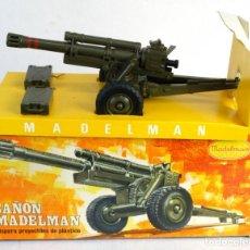 Madelman: CAÑÓN MADELMAN PRIMERA GENERACIÓN AÑOS 70-REF.707. Lote 176816785