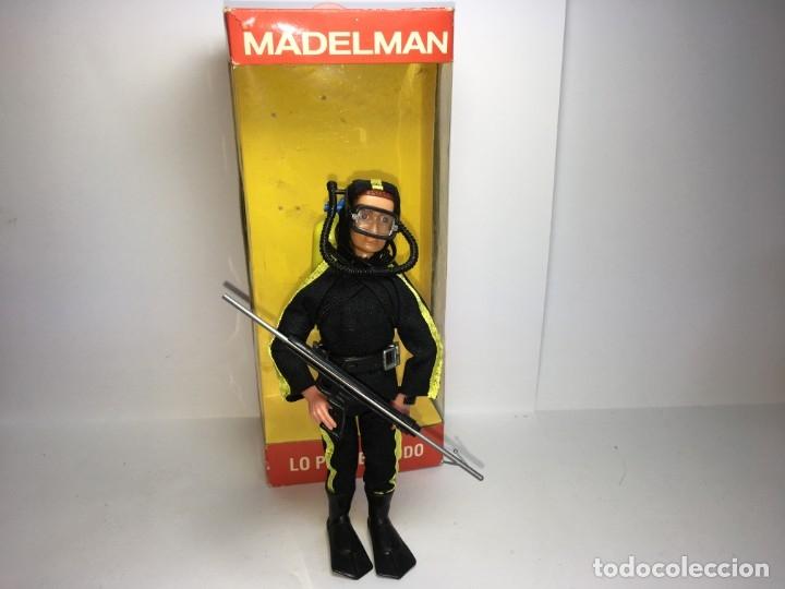 MADELMAN ALTAYA POLICIA SUBMARINISTA (Juguetes - Figuras de Acción - Madelman)