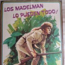 Madelman: MADELMAN PÓSTER DEL TRAMPERO ORIGINAL. Lote 173027780