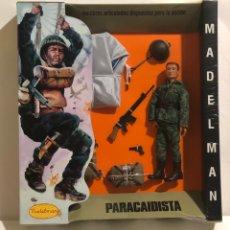 Madelman: CAJA MADELMAN PARACAIDISTA. PRODUCTO OFICIAL MADELMAN. EDICIÓN LIMITADA 50 UNIDADES. Nº 23 - AGOTADO. Lote 175029248