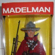 Madelman: MADELMAN ALTAYA POLICIA MONTADA CANADÁ NUEVO CON CAJA. Lote 175942820
