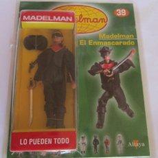Madelman: MADELMAN ALTAYA ENMASCARADO Nº 39 CON FASCICULO, EN BLISTER. CC. Lote 177333682