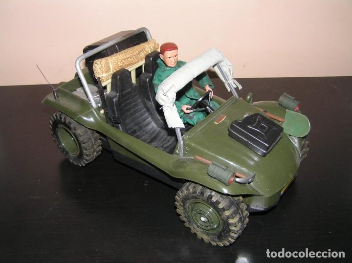 Madelman: Madelman MDE original primera generacion. Jeep buggy militar con conductor y accesorios de regalo - Foto 2 - 178047197
