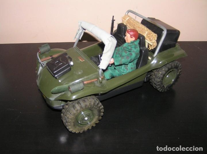 Madelman: Madelman MDE original primera generacion. Jeep buggy militar con conductor y accesorios de regalo - Foto 4 - 178047197