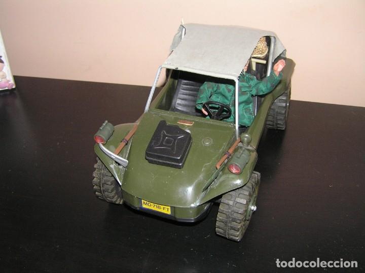 Madelman: Madelman MDE original primera generacion. Jeep buggy militar con conductor y accesorios de regalo - Foto 5 - 178047197