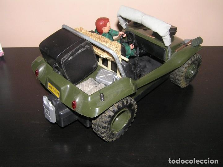 Madelman: Madelman MDE original primera generacion. Jeep buggy militar con conductor y accesorios de regalo - Foto 7 - 178047197