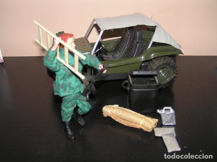 Madelman: Madelman MDE original primera generacion. Jeep buggy militar con conductor y accesorios de regalo - Foto 8 - 178047197
