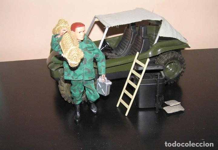 Madelman: Madelman MDE original primera generacion. Jeep buggy militar con conductor y accesorios de regalo - Foto 9 - 178047197