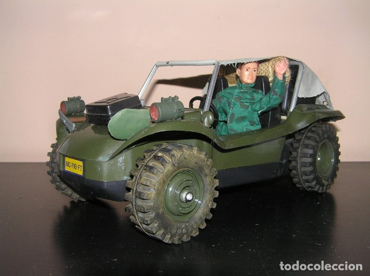 Madelman: Madelman MDE original primera generacion. Jeep buggy militar con conductor y accesorios de regalo - Foto 10 - 178047197