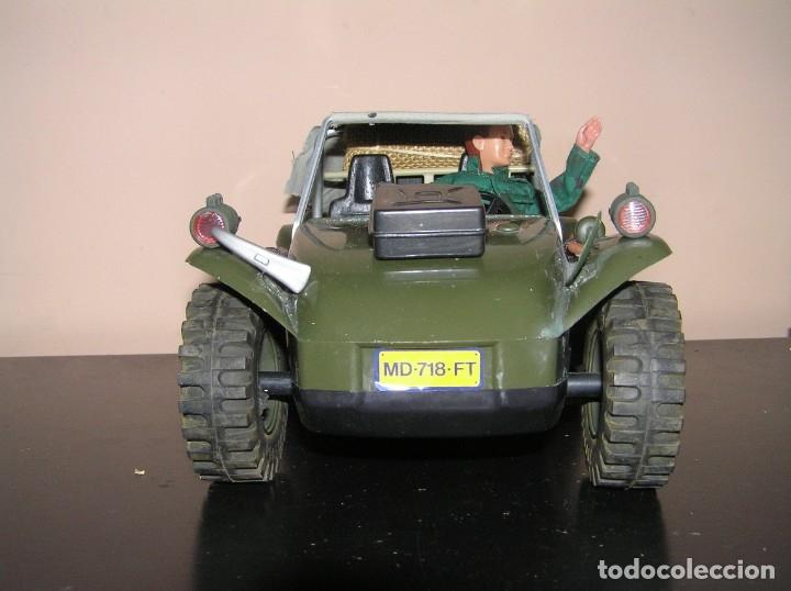 Madelman: Madelman MDE original primera generacion. Jeep buggy militar con conductor y accesorios de regalo - Foto 11 - 178047197