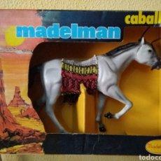 Madelman: MADELMAN ORIGINAL. CABALLO TORDO. EN CAJA. SERIE OESTE. Lote 178589146