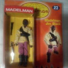 Madelman: MADELMAN ALTAYA. JIM BLACK NUEVO SIN ABRIR EN SU BLISTER ORIGINAL. Lote 179023263