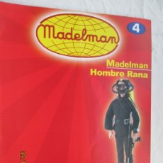 Madelman: FASCICULO MADELMAN Nº 4 - HOMBRE RANA - ALTAYA.. Lote 180022377