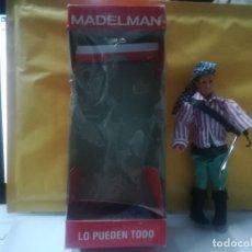 Madelman: FIGURA MADELMAN PIRATA GARFIO NUEVO EN SU CAJA. Lote 180477631