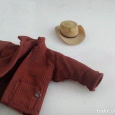 Madelman: ANTIGUO MADELMAN ORIGINAL AL 100 % SOMBRERO Y CHAQUETA SHERIFF. Lote 182196672