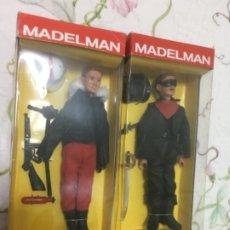 Madelman: LOTE MADELMAN ALTAYA NUEVOS PILOTO DE AVIONES Y ENMASCARADO O ZORRO. Lote 182238467