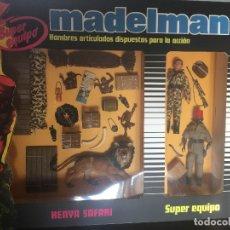 Madelman: MADELMAN CAJA SAFARI KENYA SUPER EQUIPO. TODO EN CONDICIONES DE 10/10. PERFECTAS- PERFECTAS PIEZAS.. Lote 182509798