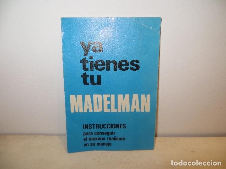 INSTRUCCIONES MADELMAN,BARATAS (Juguetes - Figuras de Acción - Madelman)