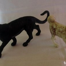 Madelman: ORIGINALES ANIMALES MADELMAN PANTERA Y PERRO ESQUIMAL . Lote 182953147