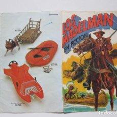 Madelman: CATÁLOGO LOS MADELMAN EN ACCIÓN . 1977 . ENVIO INCLUIDO. Lote 184438895